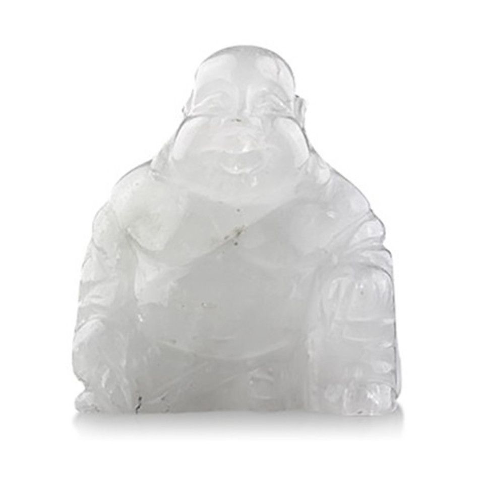 Edelsteen Boeddha Bergkristal 55 mm
