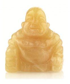 Edelsteen Boeddha Calciet geel 55 mm