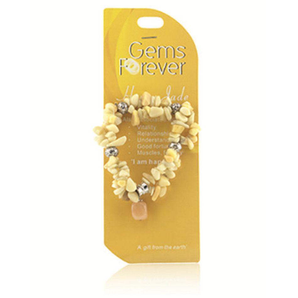 Fashion armband, nr. 11 Honing Jade