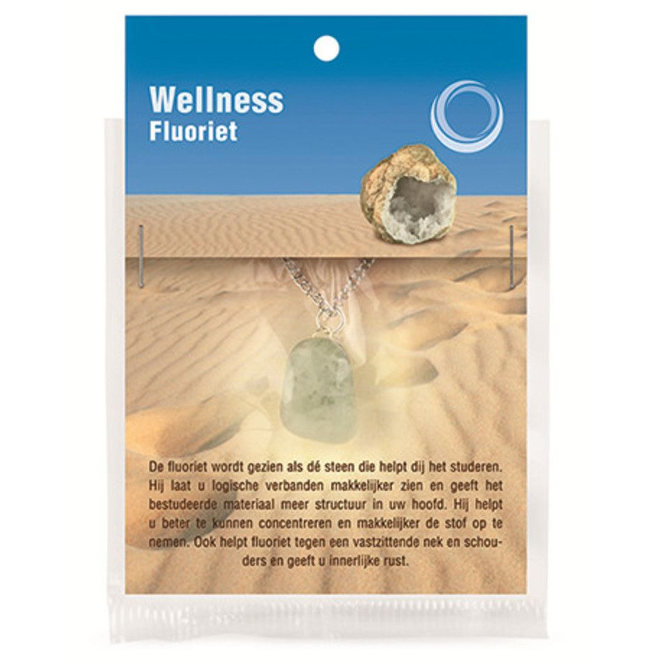 Fluoriet gezondheids hanger