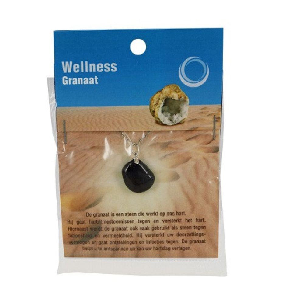 Granaat gezondheids hanger