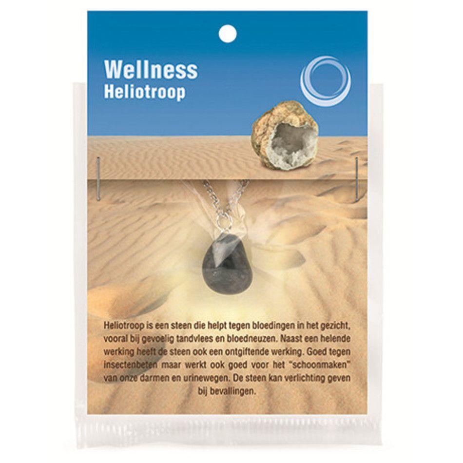 Heliotroop gezondheids hanger