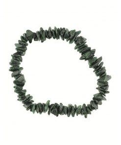 Heliotroop groen splitarmband
