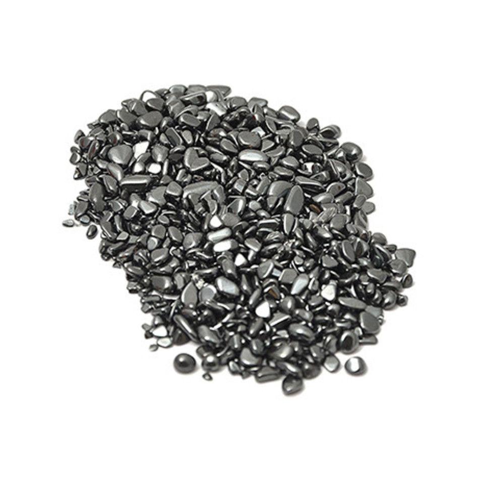 Hematiet 100 gr. ontlaadmix trommelstenen (mt0)