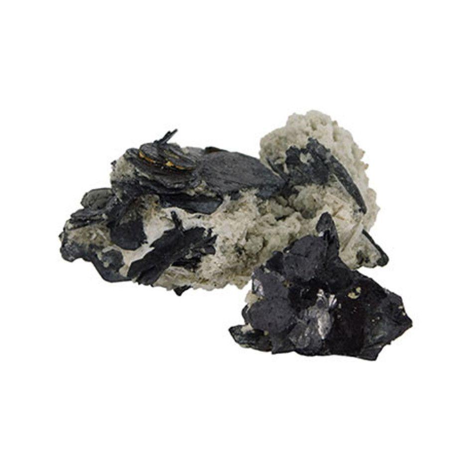 Hematiet gekristalliseerd ruw Pakistan, per gram