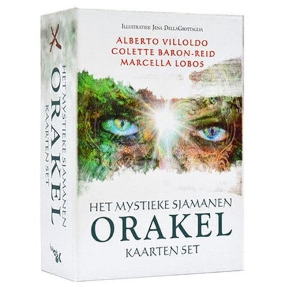 Het mystieke sjamanen orakel kaarten set
