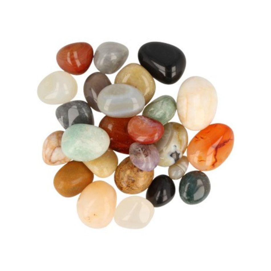 India mix trommelstenen (mt2), p/kg