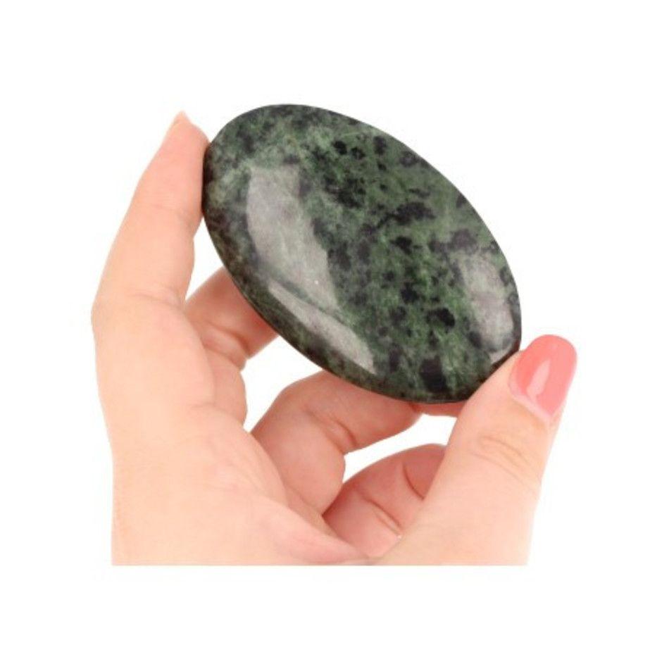Jade donker handsteen