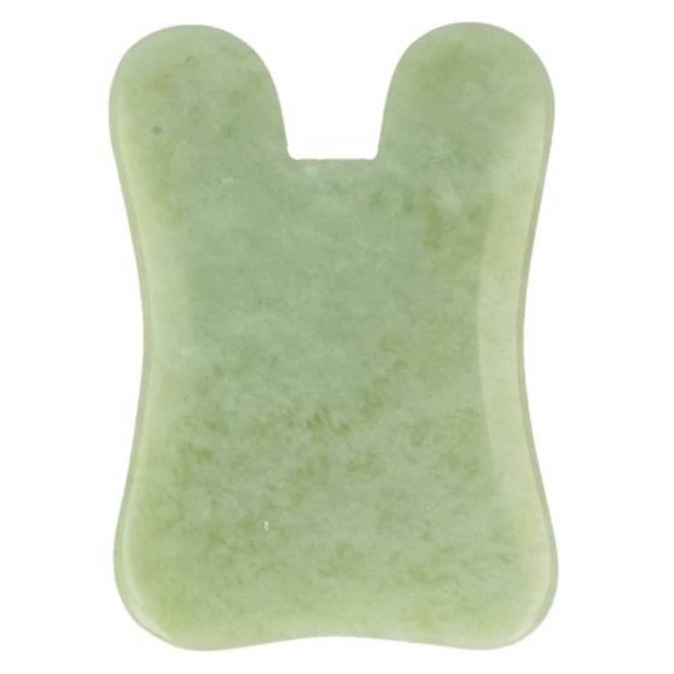 Jade guasha massage schraper rechthoek