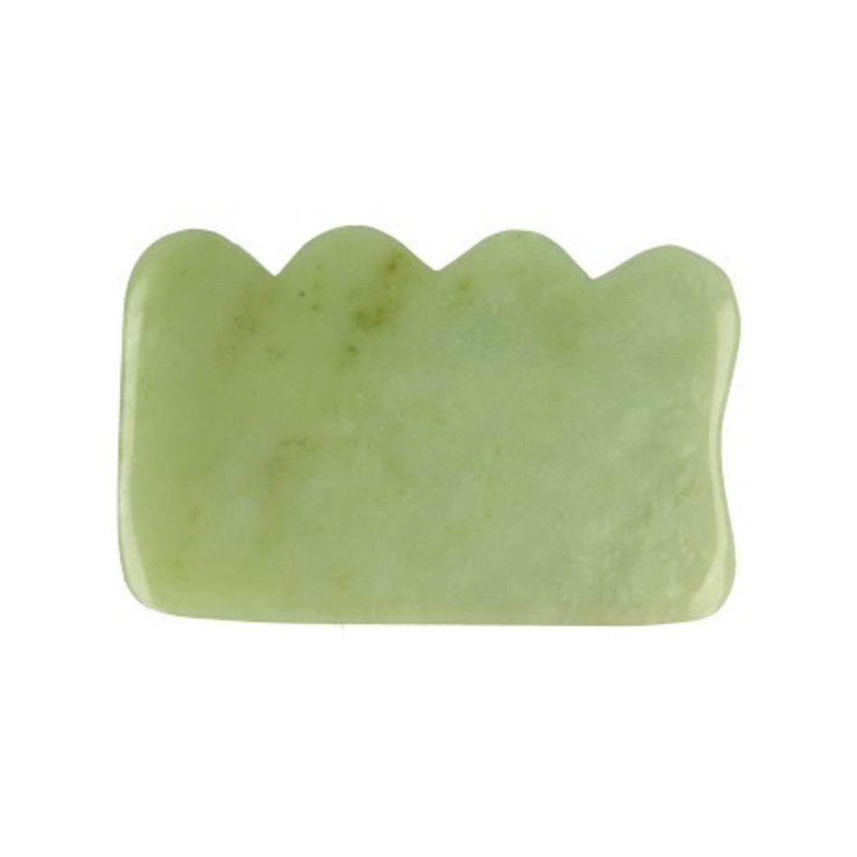 Jade guasha massage schraper wolk