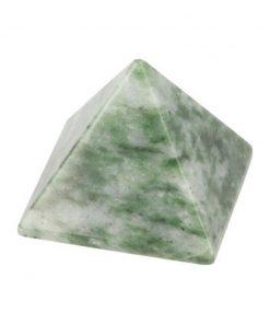 Jade piramide 30 mm edelsteen
