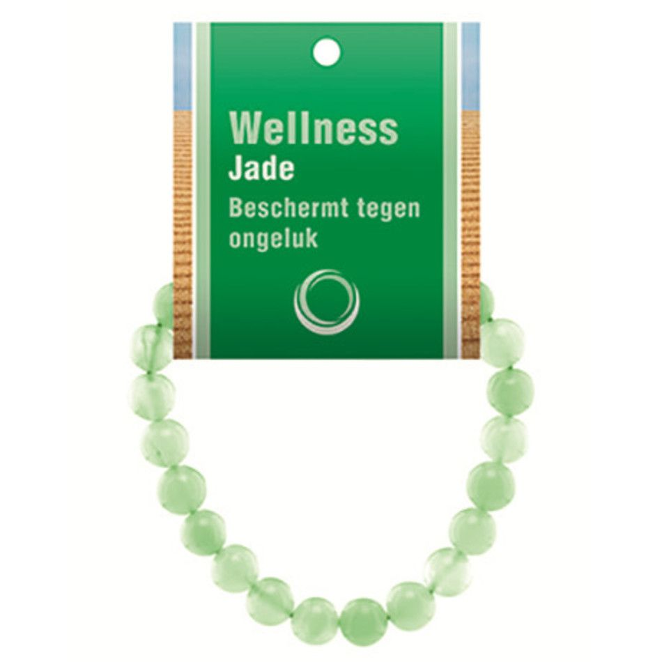 Jade powerbead armband + kaart
