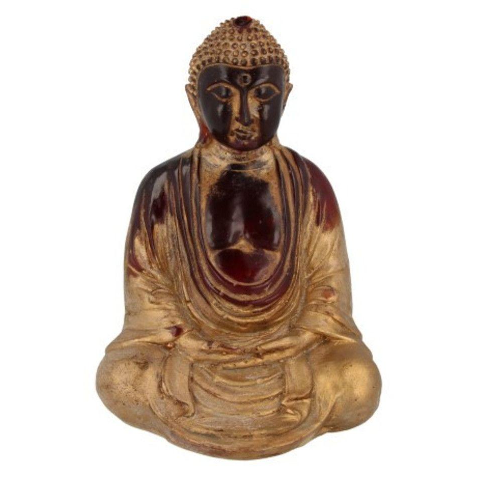 Japanse boeddha rood