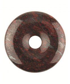 Jaspis breccie donut 30 mm