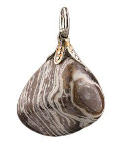 Jaspis Cacao edelsteen hanger