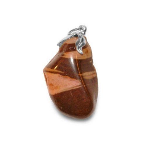 Jaspis cappuccino edelsteen hanger