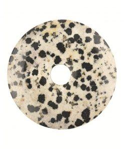 Jaspis dalmatiër donut 40 mm