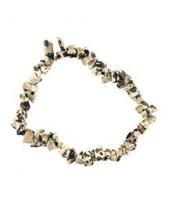 Jaspis Dalmatiër splitarmband