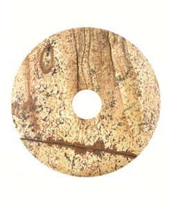 Jaspis landschap donut 40 mm