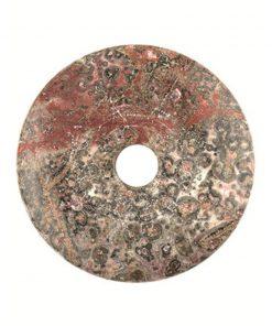 Jaspis luipaard donut 30 mm