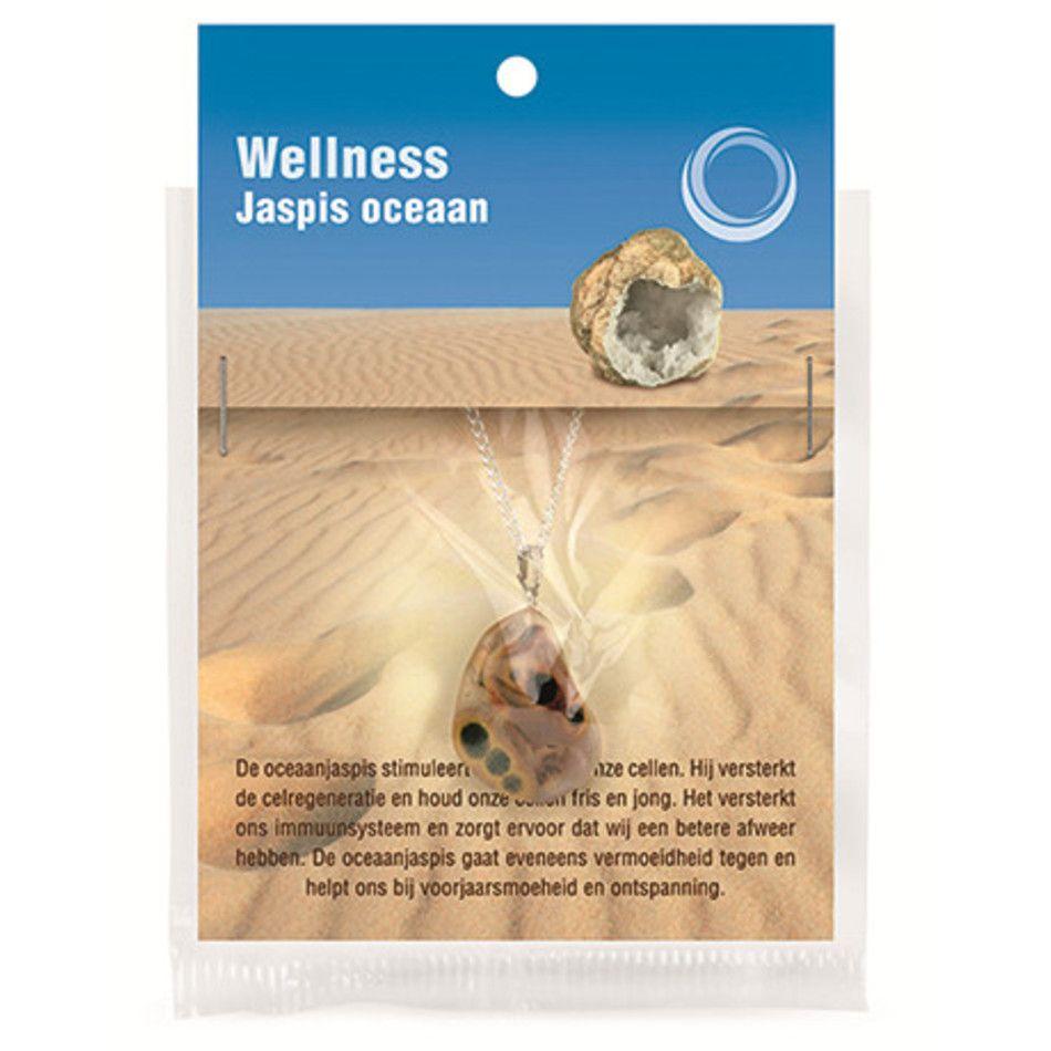 Jaspis oceaan gezondheids hanger