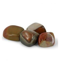Jaspis polychroom trommelstenen (mt3), per gram