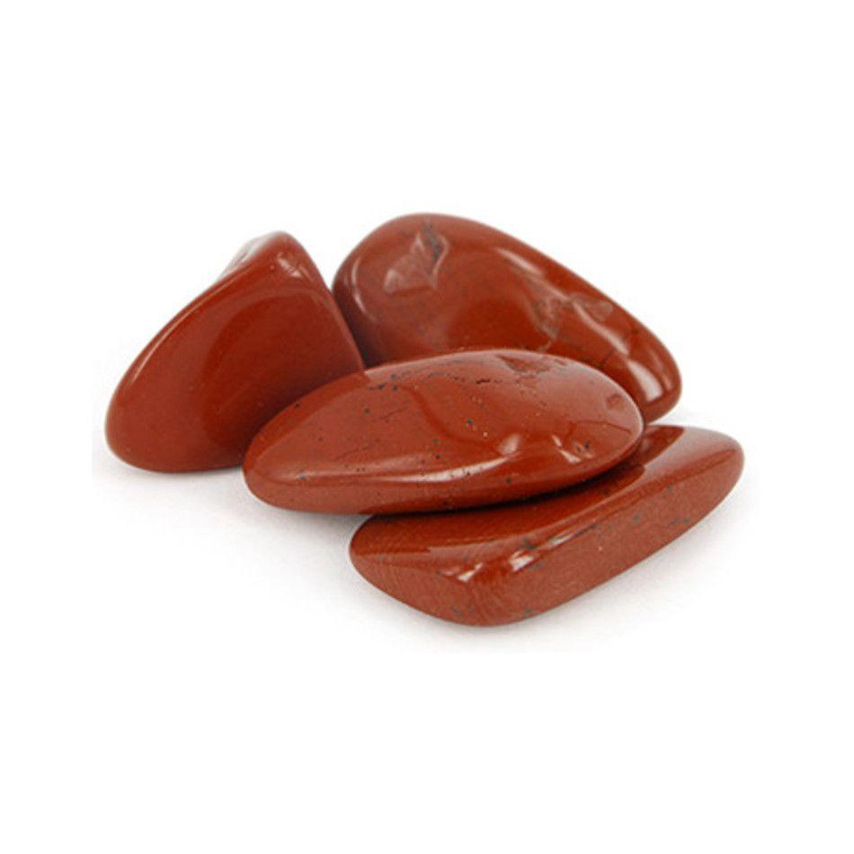 Jaspis rood 100 gr. trommelstenen (mt3)