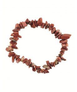 Jaspis rood splitarmband