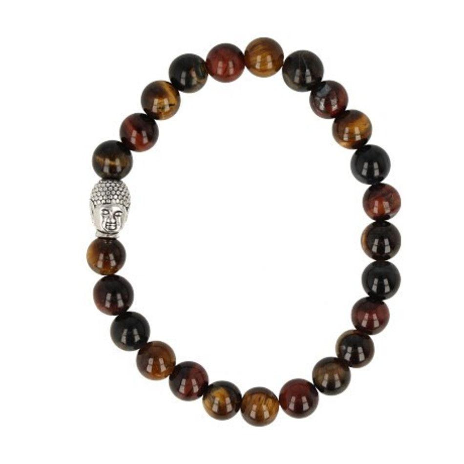 Katten/Tijger/Valkenoog kralen armband boeddha mannen