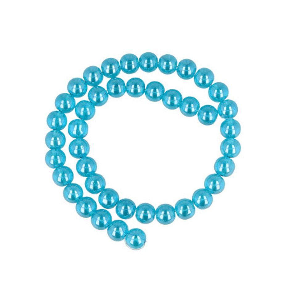 Kralen streng Aqua Aura 10 mm