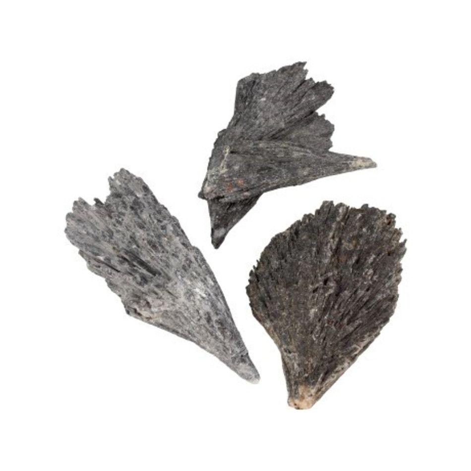 Kyaniet zwart ruw 150 gram