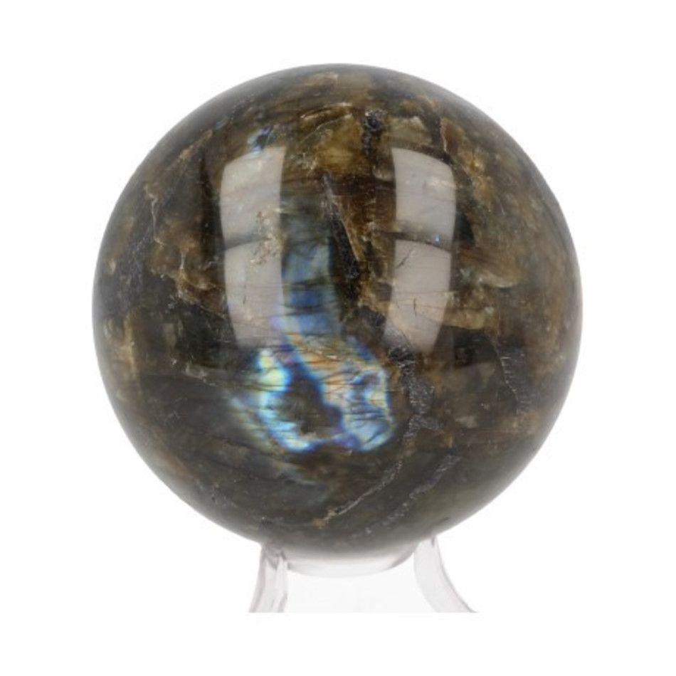 Labradoriet 8 cm edelsteen bol