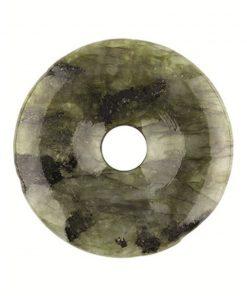 Labradoriet donut 50 mm