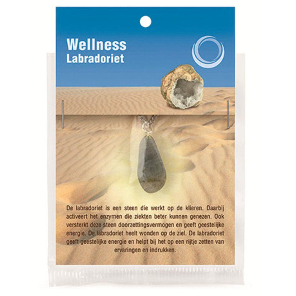 Labradoriet gezondheids hanger