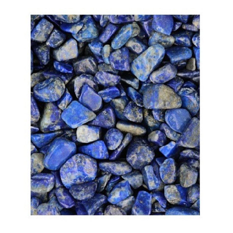 Lapis lazuli A trommelstenen (mt1), per gram