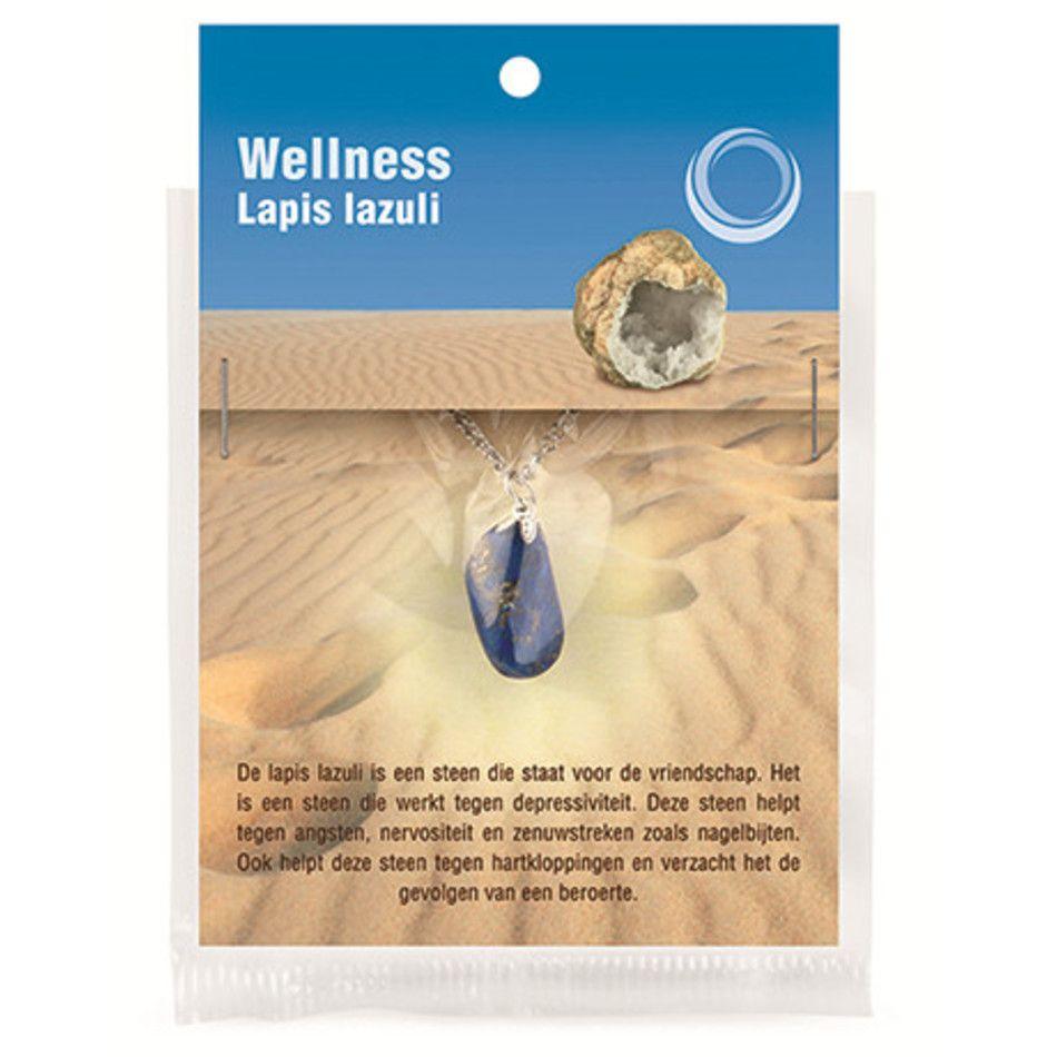 Lapis lazuli gezondheids hanger