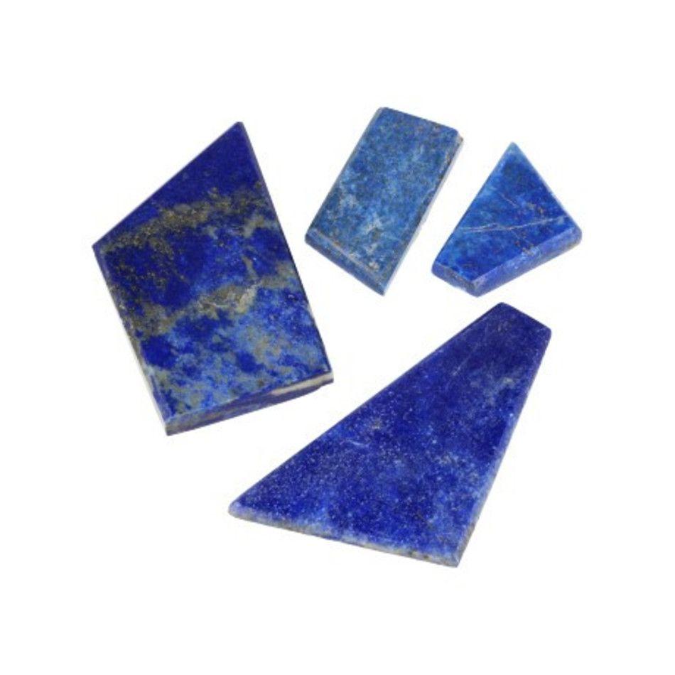 Lapis Lazuli schijfjes / cabochons 100 gr.