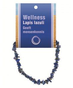 Lapis lazuli splitarmband + kaart