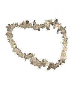Maansteen grijs splitarmband