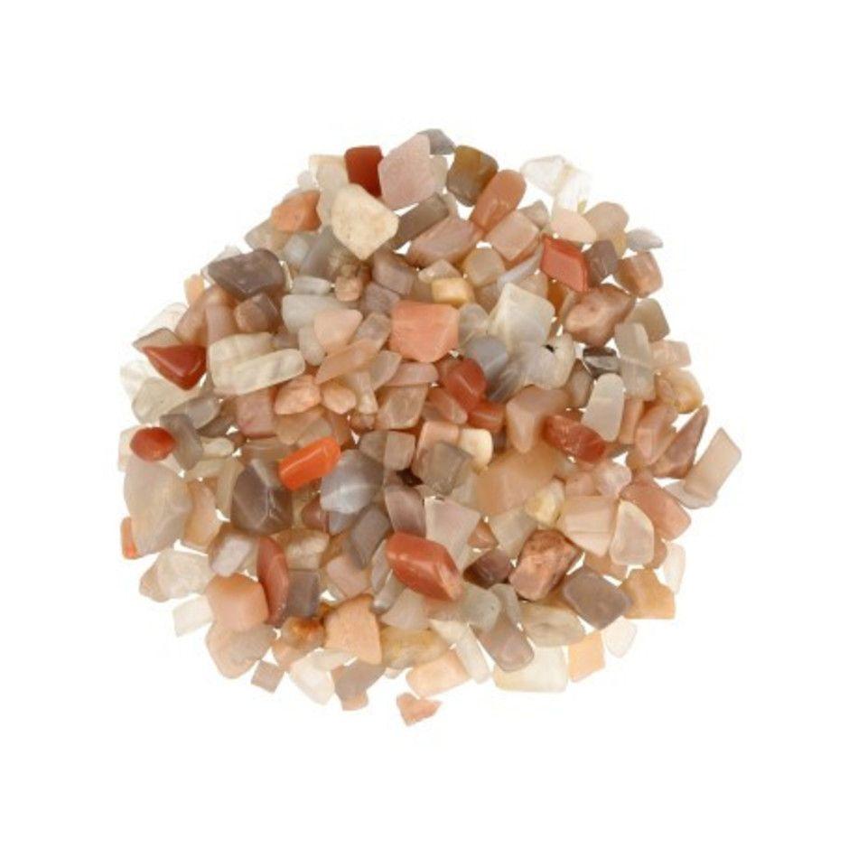 Maansteen multi 100 gr. trommelstenen (mt1)