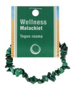 Malachiet splitarmband + kaart
