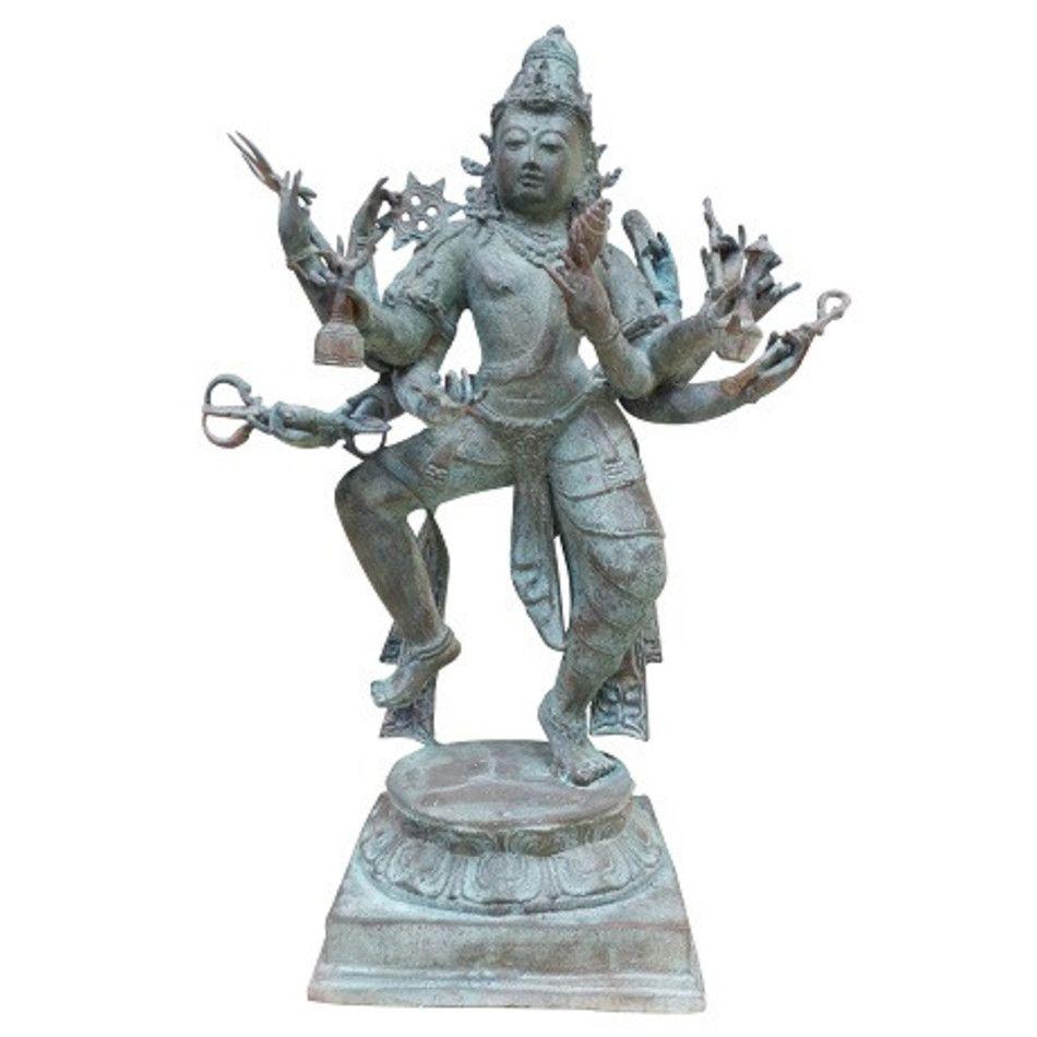 Meerarmige Shiva - beeld brons nr.1