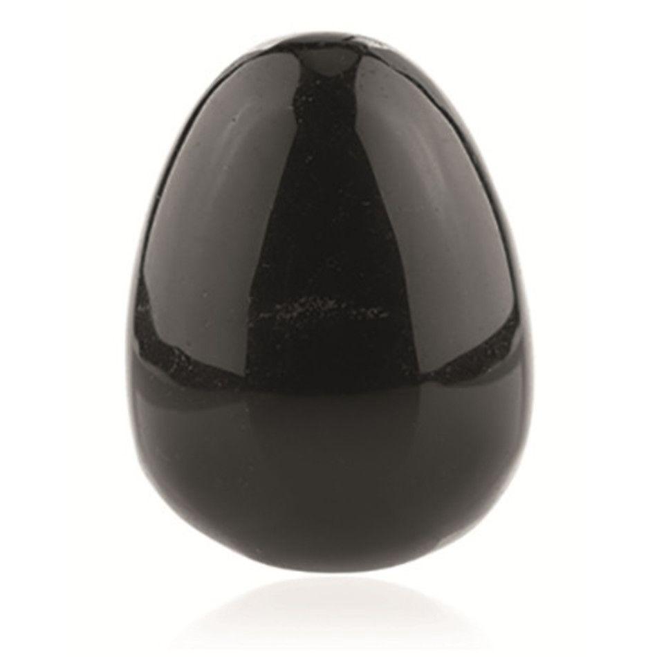 Obsidiaan zwart yoni ei 45x33 mm
