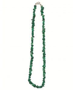 Onyx groen splitketting