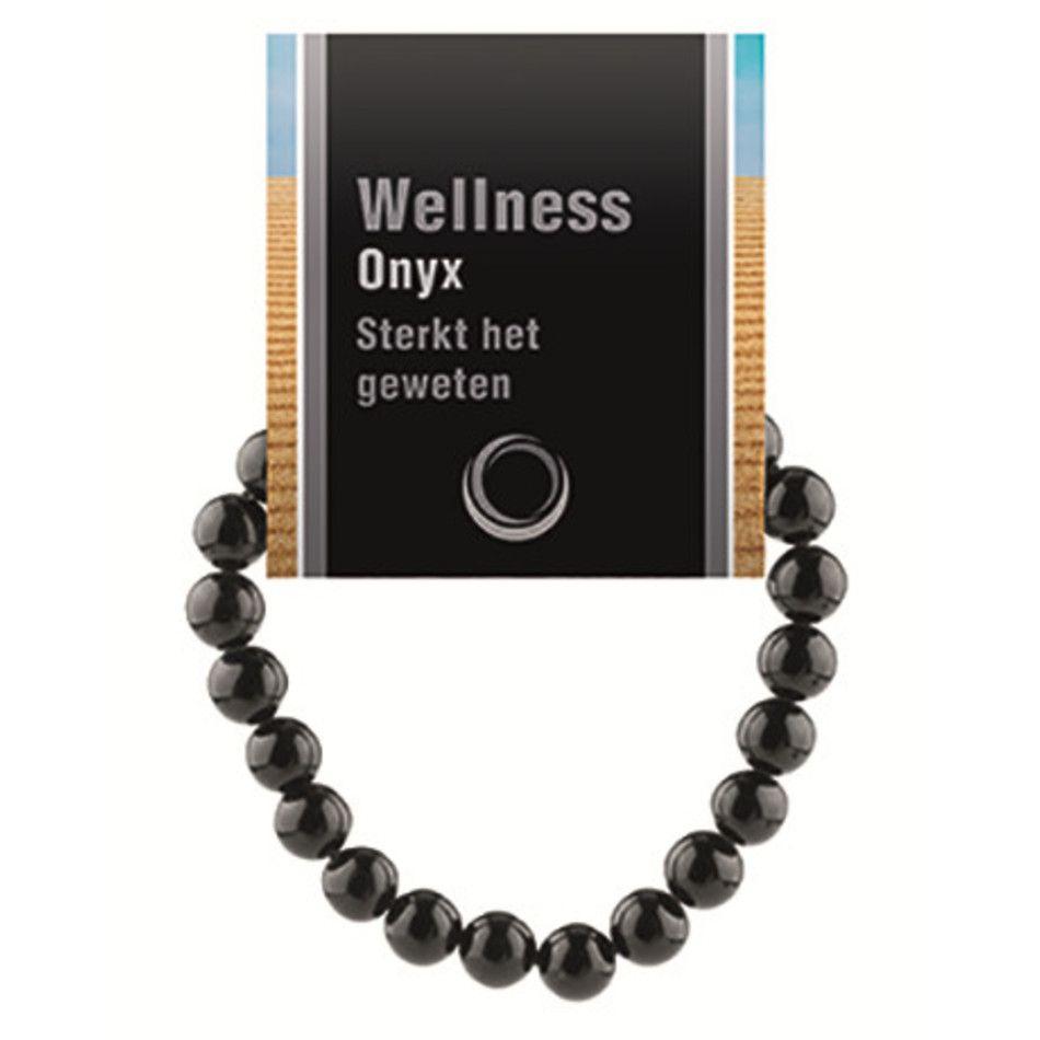Onyx powerbead armband + kaart