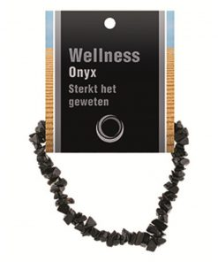 Onyx splitarmband + kaart