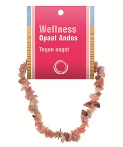 Opaal Andes splitarmband + kaart