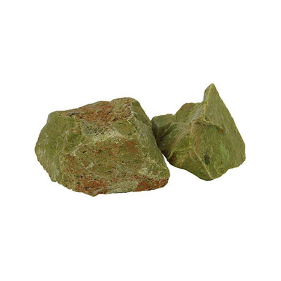 Opaal groen ruw
