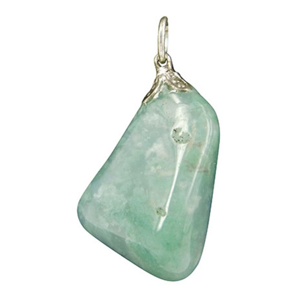 Opaal mos edelsteen hanger
