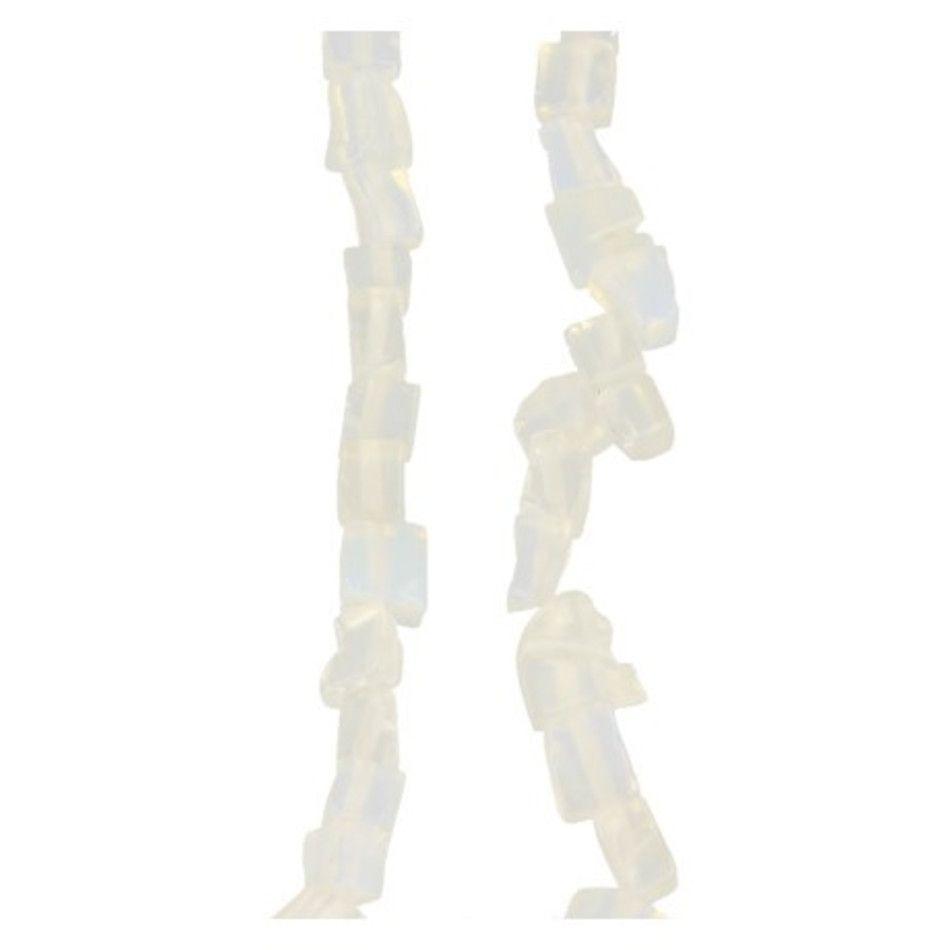 Opaliet kralen streng split 80 cm